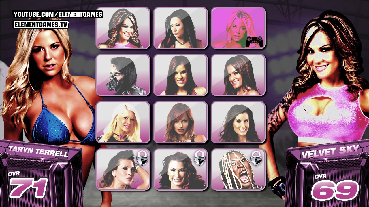 Impact wrestling knockouts pics