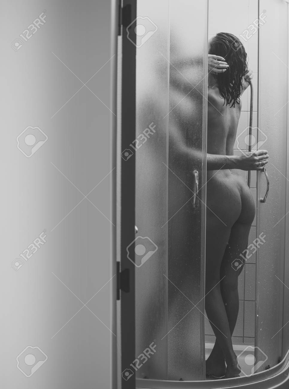 Sex nude couple in shower